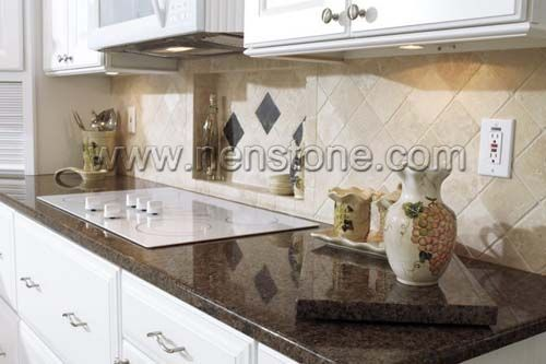 Incroyable K1027 1 Tropic Brown Granite Countertop With Eased And Polished Edge