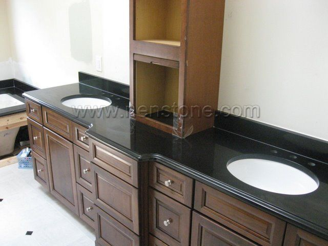 granite vanity tops phoenix china absolute black without sink kansas city