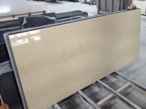 Light Yellow Quartz Countertops ...