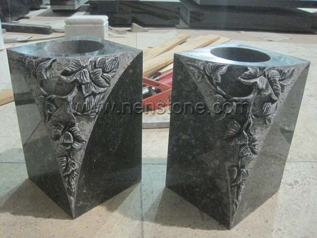 Stone Vases For Graves Vase And Cellar Image Avorcor