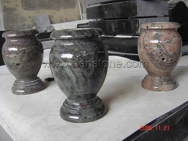 Flower Vase For Tombstone From China Stone Fabricator